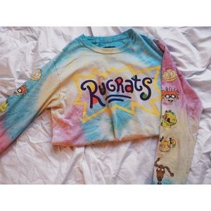 cbaf753dfef Forever 21 Tops - Rugrats Graphic Tie-Dye Long Sleeve